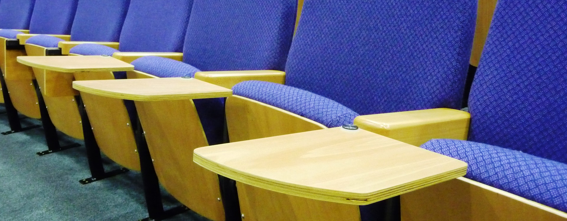 Auditorium Desk Options