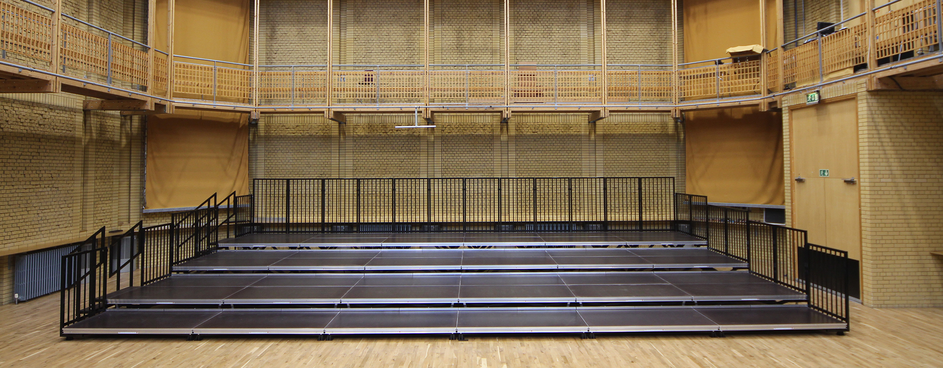CBSO Tiered Riser Staging