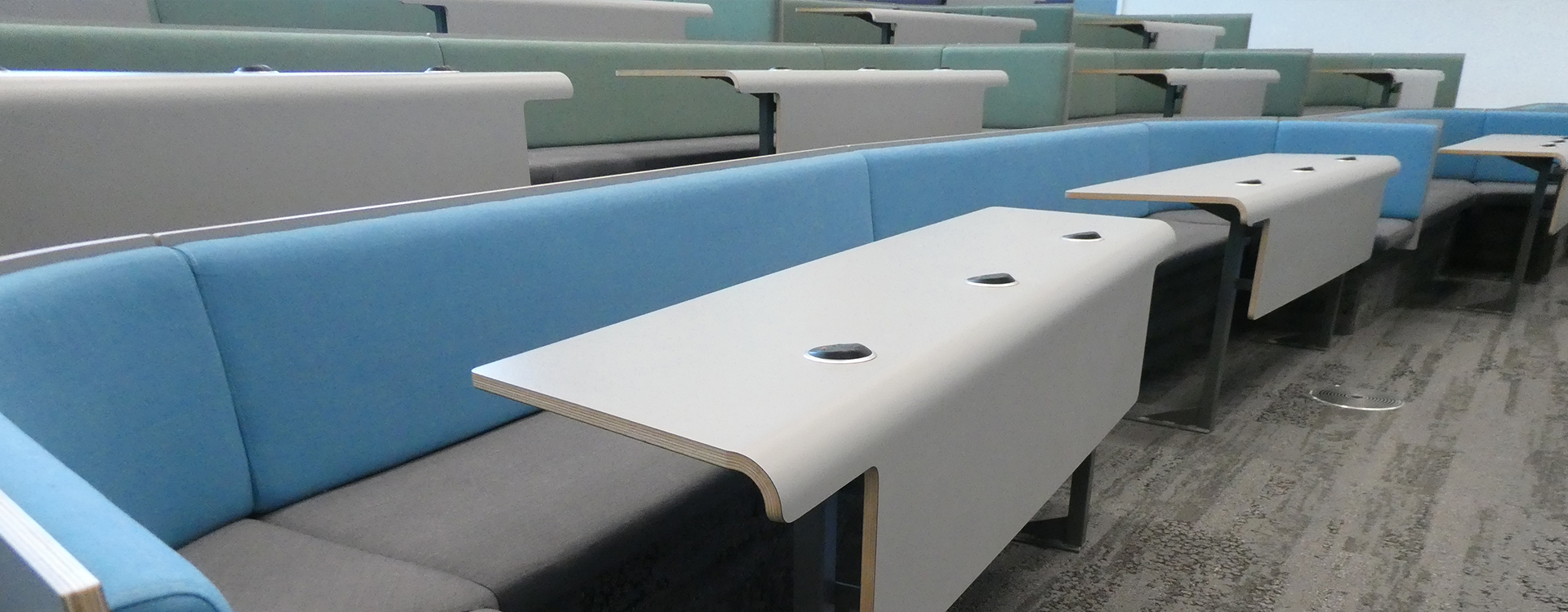 Newcastle University Collaborative Bench Seating