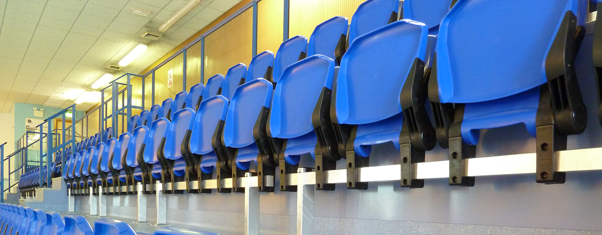 Newton Aycliffe Leisure Centre Spectator Seating