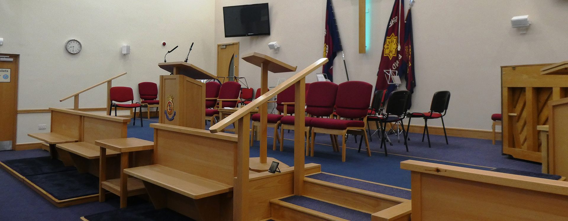 Sheringham Salvation Army Bespoke Church Furniture