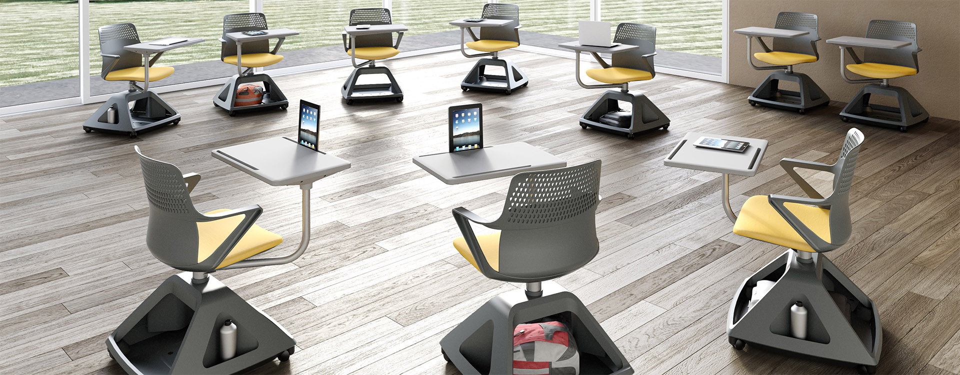 Studio Evo tablet chair