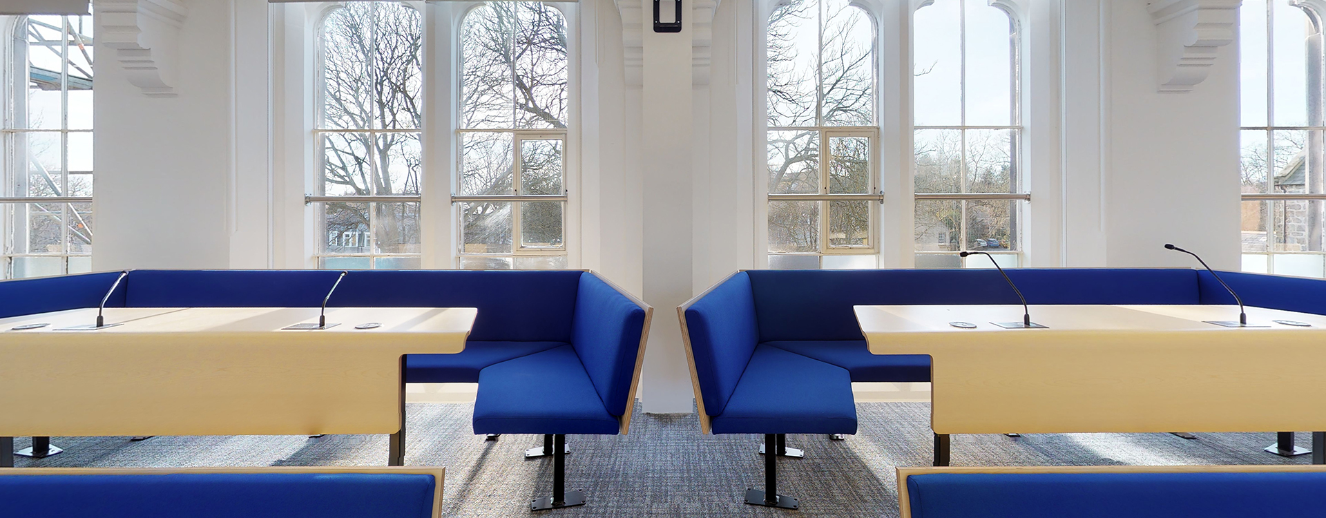 Collaborative Bench Seating at the University of Aberdeen
