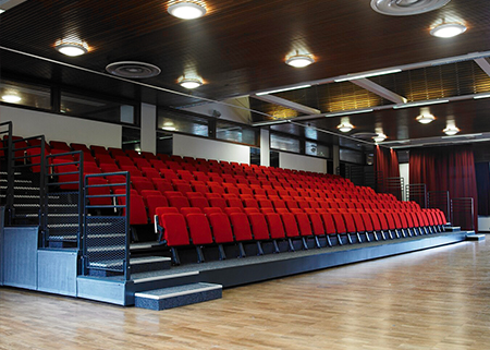 University Of Birmingham Avon Room Retractable Seating