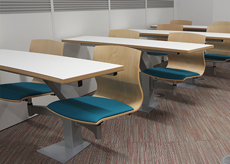 Dudley College Turn and Learn Lecture Theatre Seating