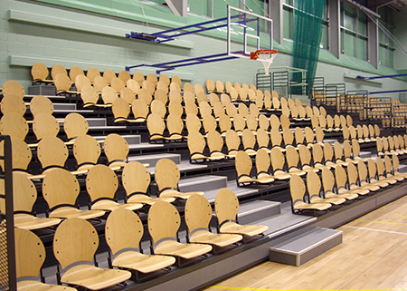 Lagoon Leisure Centre Retractable Seating Case Study