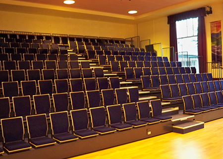 Lochaber High School Retractable Seating