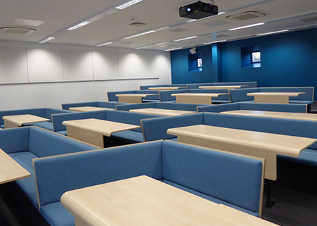 Loughborough uni collaborative bench seating