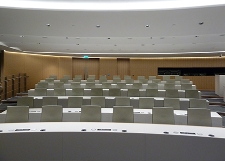 Morgan Stanley Inova Turn and Learn Auditorium Seating