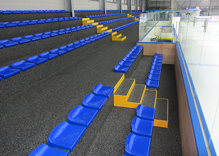 Planet Ice Rink Spectator Seating