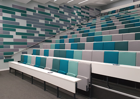 University of Warwick lecture theatre seating