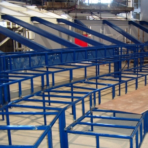 Tiered Seating System