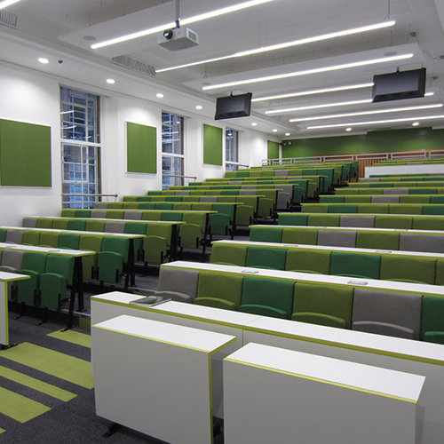 The benefits of lecture theatres