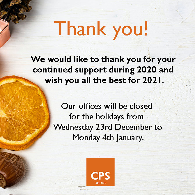 CPS holiday shutdown 2020