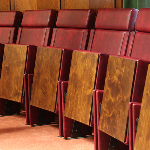 CPS introduce two new auditorium seats