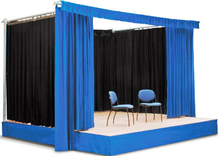 Stage Curtain Amp Truss Systems Cps Manufacturing Co