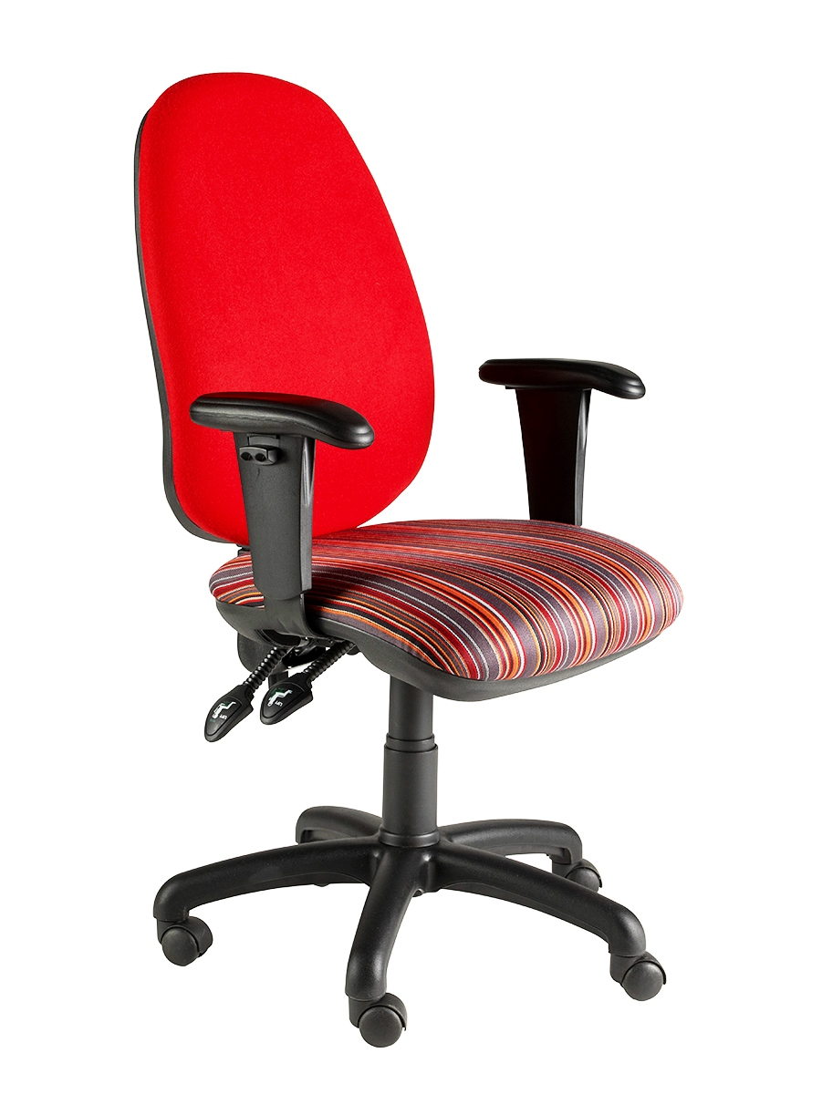 Clavo Deluxe Operator Chair With Height Adjustable Arms