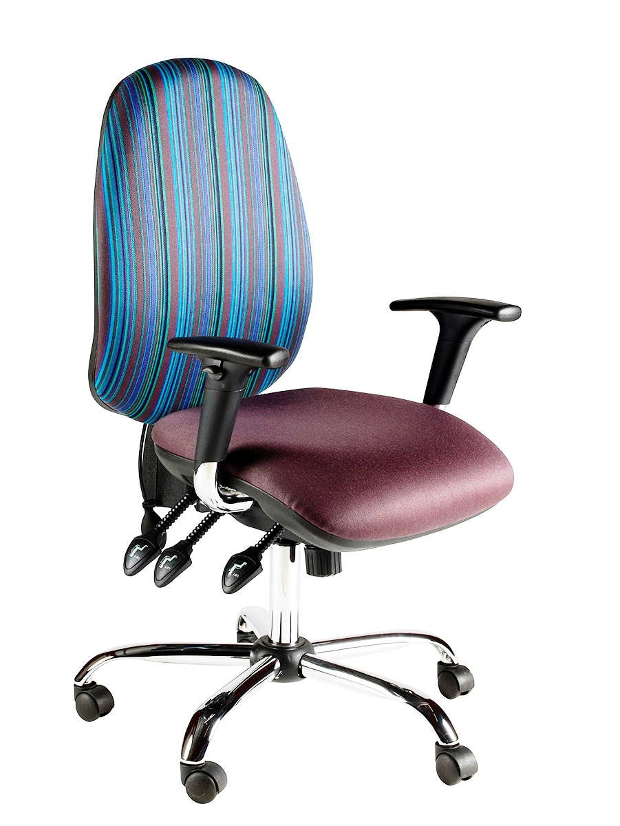 Clavo Task Operator Chair With Height Adjustable Arms