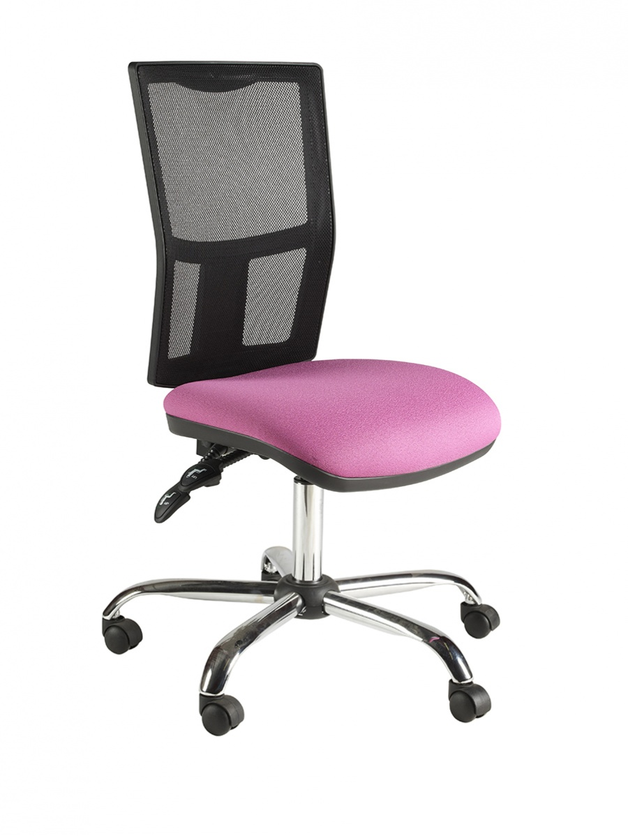 Clavo Mesh Square High Back Operator Chair